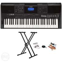 Yamaha PSR-E453 61-Key Touch Response Portable Keyboard And Stand