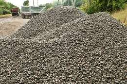 Supply of ballast,chippings,quarry dust,stones,river sand,rock sand