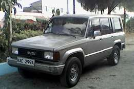 Lhd Isuzu Trooper. Trade inn accepted