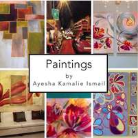 Paintings and Wall art done by hand to your needs by AKLIVITI !