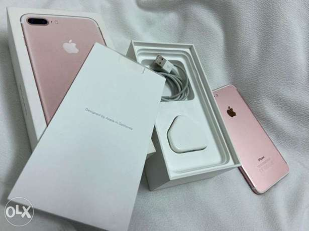 IPhone 7 Plus 128gb with box and all accessories original