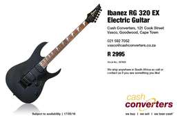 Ibanez RG 320 EX Electric Guitar