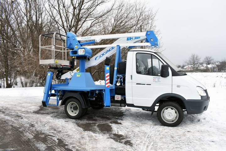 Socage New  A314 na shassi GAZ-3302 bucket truck - 2019