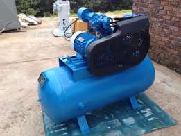 Compressor, HOLPAK, Piston Air Compressor, 410 L, 7.5 kW