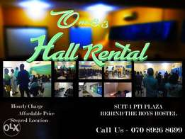 Affordable Hall Rental