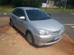 Immaculate condition 2014 Toyota Etios 1.5 Sedan for sale