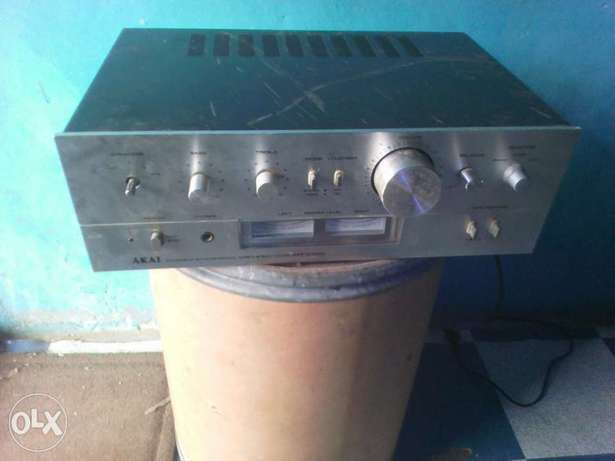 Akai amplifier in good condition no issue at all Apamu - image 3