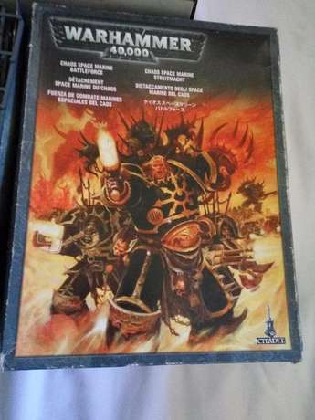 Wrahmmer 40k Chaos Space Marine Battleforce and Goodies Claremont - image 1