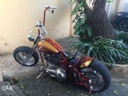 Custom Chopper Motorbike USA