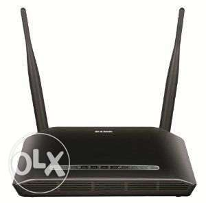 راوتر D-Link Wireless N 300 ADSL2 4 Port Wi-Fi Router - DSL-2750u