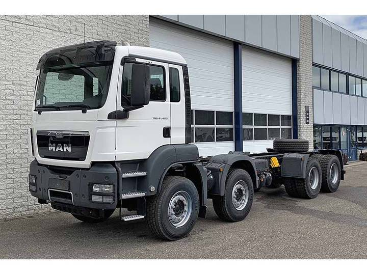 MAN TGS 41.400 BB-WW 8X4 CHASSIS CABIN (2 units)