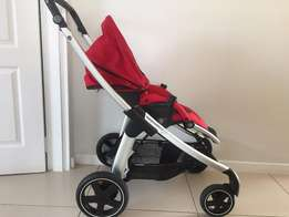 Bebe Confort Elea full Travel System (Red)