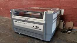 lc1.4mx1mx100watt up/down table laser cut engrave machines