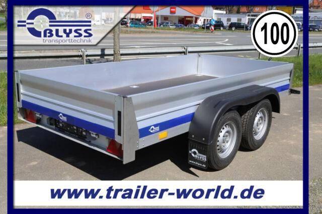 Blyss PKW Anhänger VOLLALU! 310x155x33cm 2500kg GG