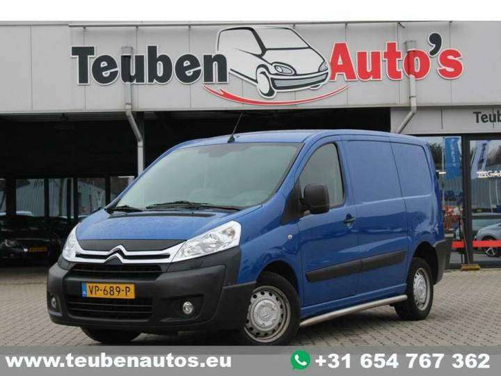 Citroën Jumpy 10 1.6 HDI L1H1 Economy Excl. BTW, Euro 5 - 2015
