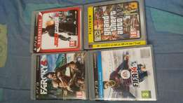 Am selling 4 PlayStation 3 games