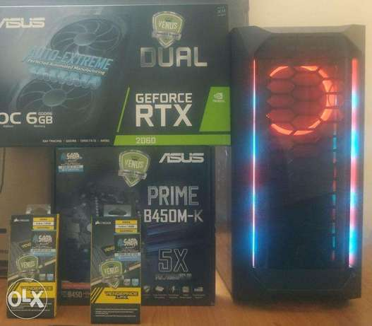 Full Gaming Pc With Rtx 2060