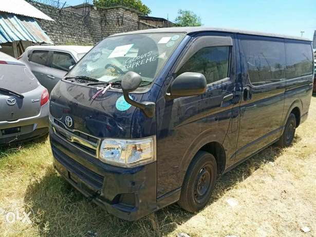 Toyota Hiace Diesel Engine Blue colour Mombasa Island - image 3