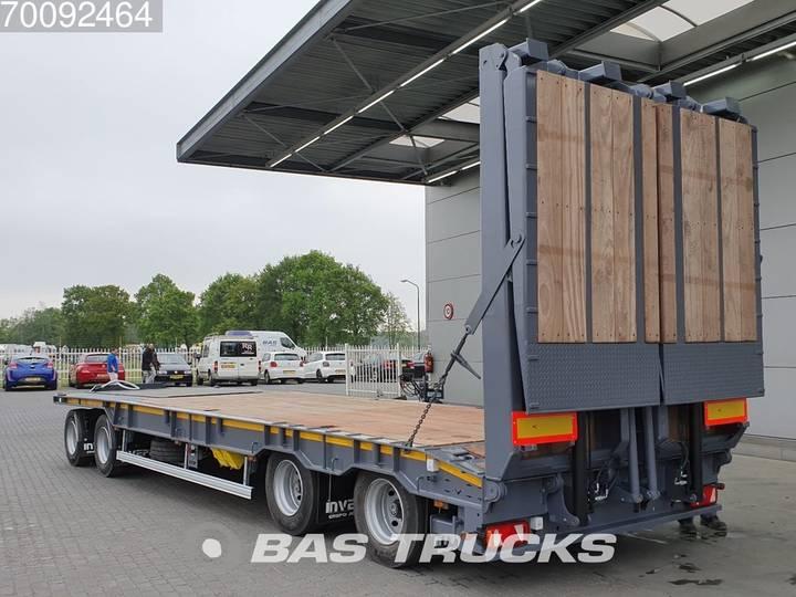 Invepe 4-achs Tieflader 4 axles Hydr-Rampen Steelsuspension BPW - 2019