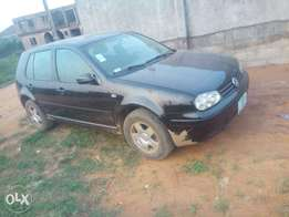 Golf 4 blk col Fuel n Drive