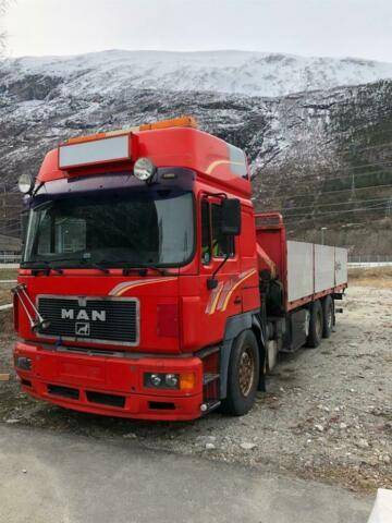 MAN 26.463 Soon Expected 6x2 Crane Pk26000 Ua - 1996