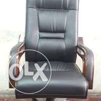 Executive office chair brown