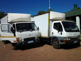 Own or Part Loads to and from Joburg, Capetown,PE, East London, Durban
