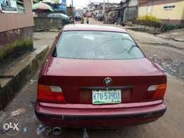 BMW 3series, alloy rims, new battery, DVD player