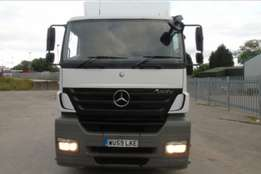 Mercedes Axor 2543 Manual gearbox