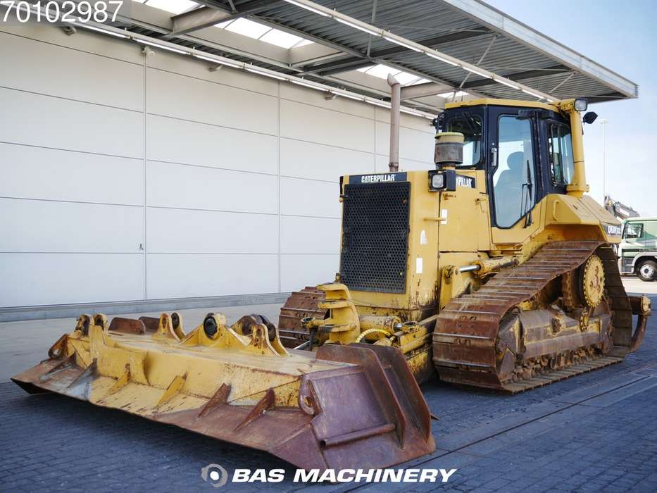 Caterpillar D6M XL Pat blade German machine - RIPPER - 1996