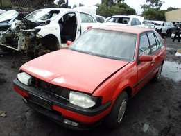 Great stock received this week! 1990 Ford Laser 1.6i B6 Used Spares!