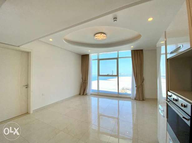 Sea view! 1 bed apartment with semifurnished+ewa+kids play area+pools