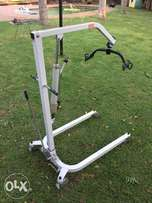 Hydraulic mobile hoist for sale