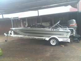 """Viking carrera with 115 mariner oil lnjected motor 16"""""""
