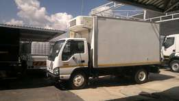 Toyota Dyna Rigit closed body single diff 2007 truck for sale