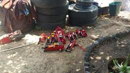 1.5 and 2 ton trolley jacks for sale