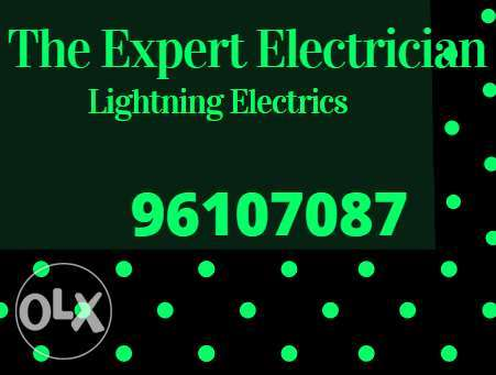 Electrical expert opens for any electric issues at your area when you