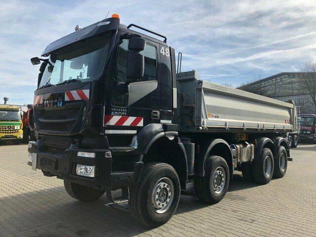 Iveco TRAKKER 450 8x8 Euro 6 Dreiseitenkipper Meiller - 2014