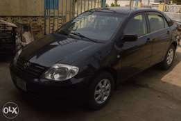 neatly used toyota corolla 04 for 700k