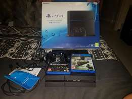 Complete Playstation 4 Console