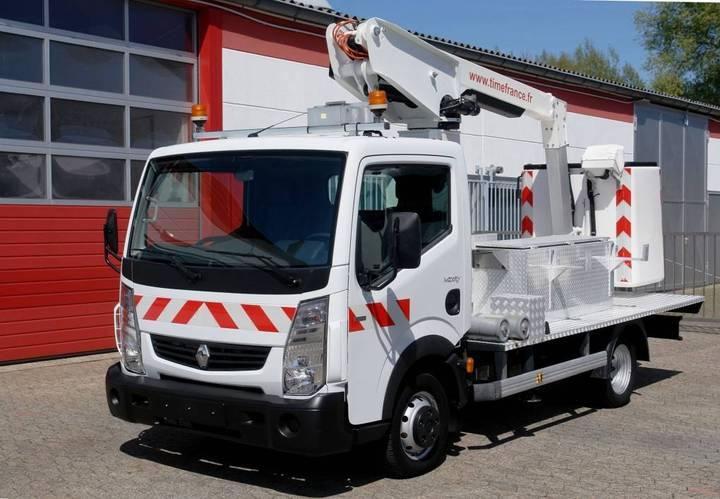 Renault Maxity 120.35 Arbeitsbühne 9,80m Korb 200kg Tüv - 2013