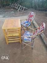 Quick sale cheap furniture - bed, matress, chairs, table and gas