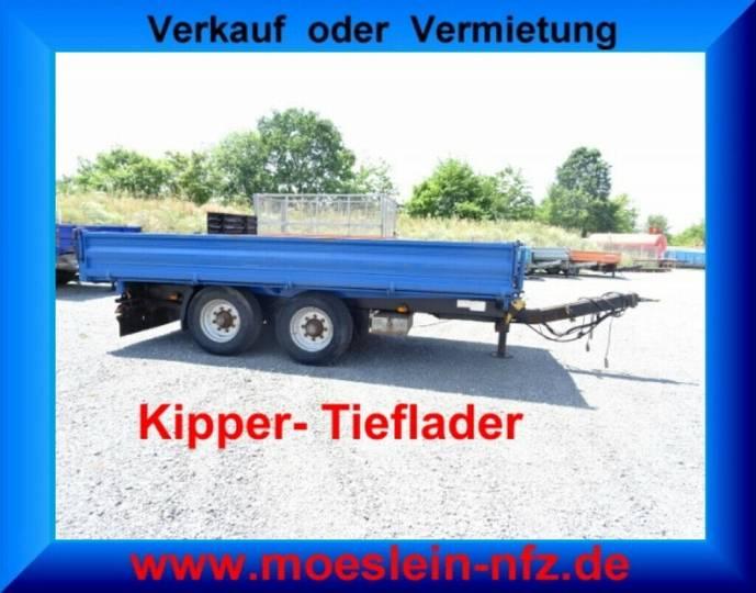 Mueller Mitteltal KA-TA-T 13,5 t Tandemkipper- Tieflader - 2012