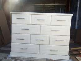 New Solid 10 drawers chest of drawers