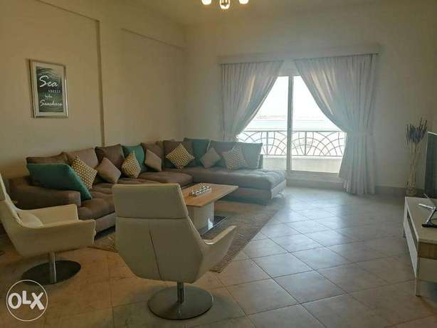 Elegant 3 BR FF Apartment with Sea View in Amwaj Island For Rent