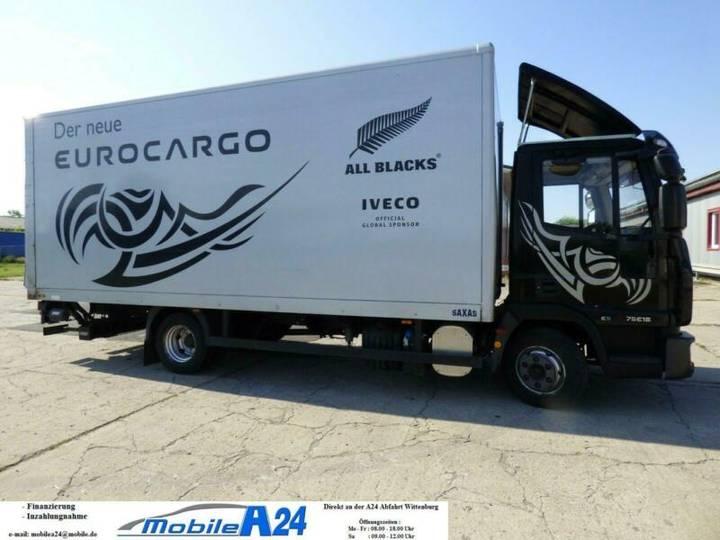 Iveco 75E18 E5 EU5 SCHIEBEPLANE LINKS ORGINAL 164TKM - 2008