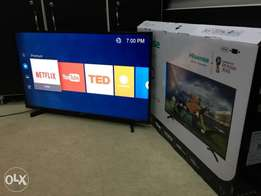 "43"" Smart & Digital Hisense LED flat screen TV"