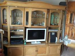 Wall unit 3 piece