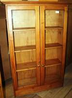 Display Cabinet Oak S023881B