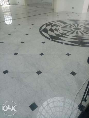 Tiles work marble and tabok